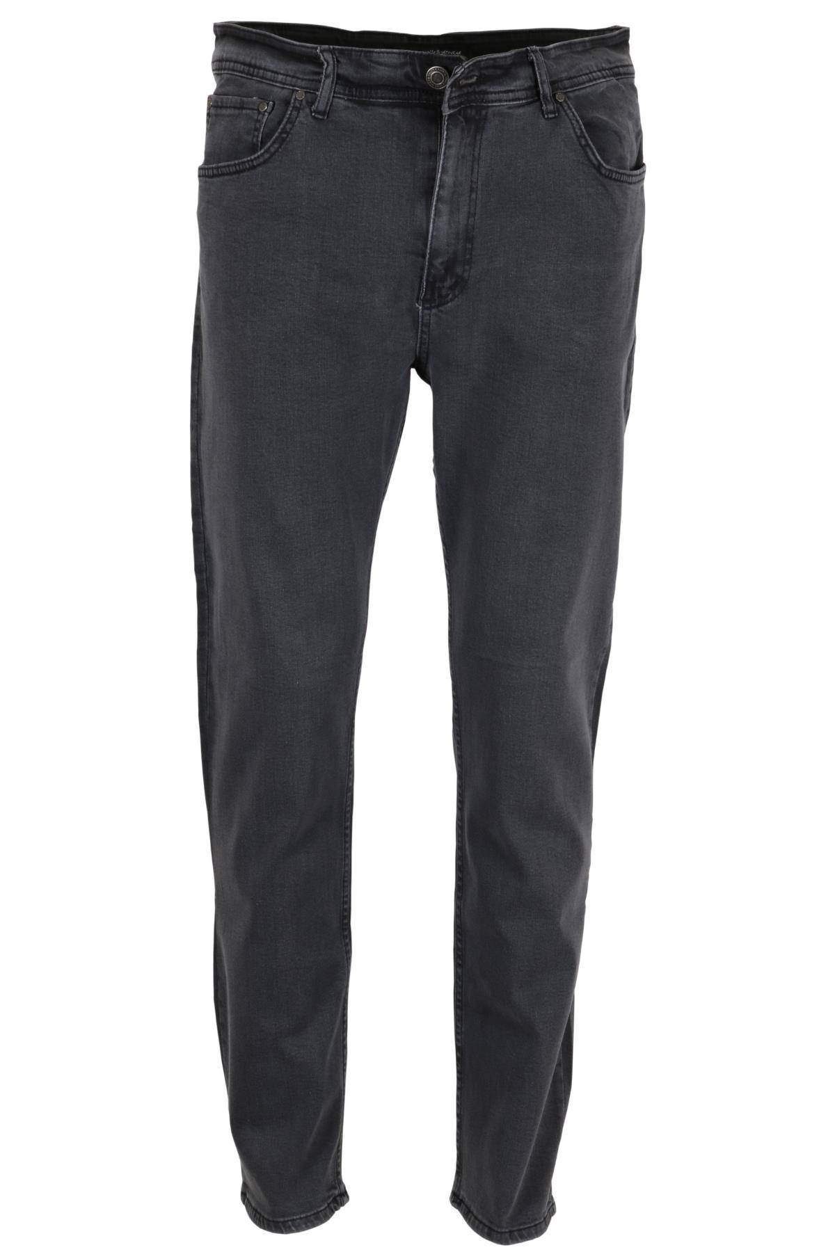 Erkek Battal Kot Pantolon Normal Kesim RAR00462