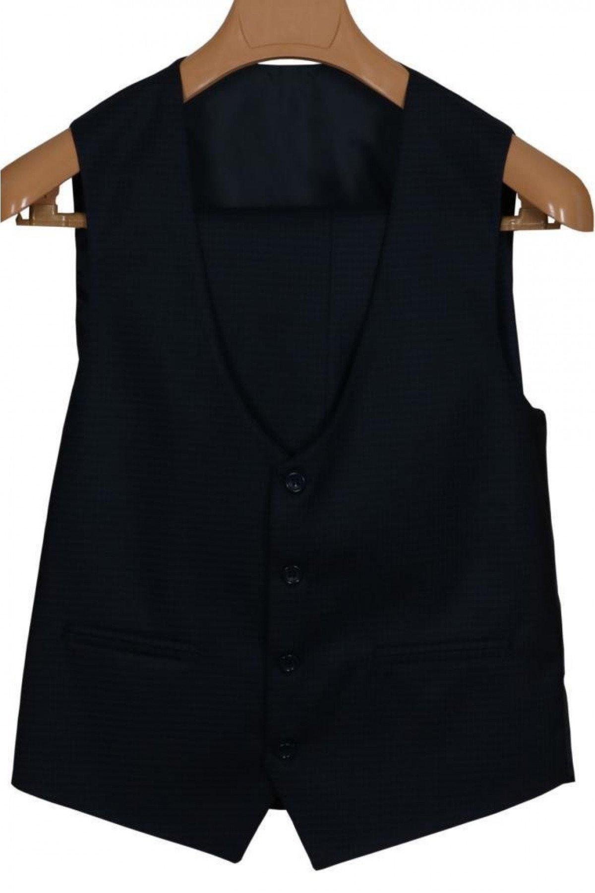 Erkek Takım Elbise Yelekli Dar Kesim RAR00695